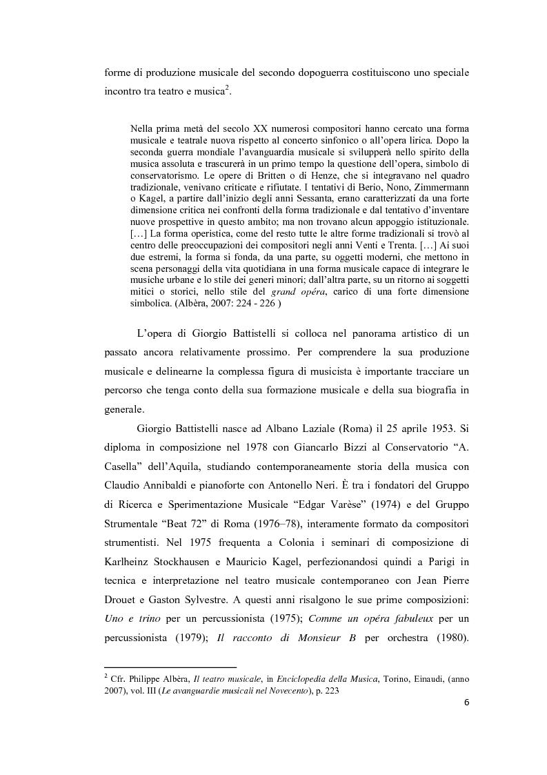 Anteprima della tesi: Dall'Opus all'Opera: Experimentum Mundi di Giorgio Battistelli, Pagina 4