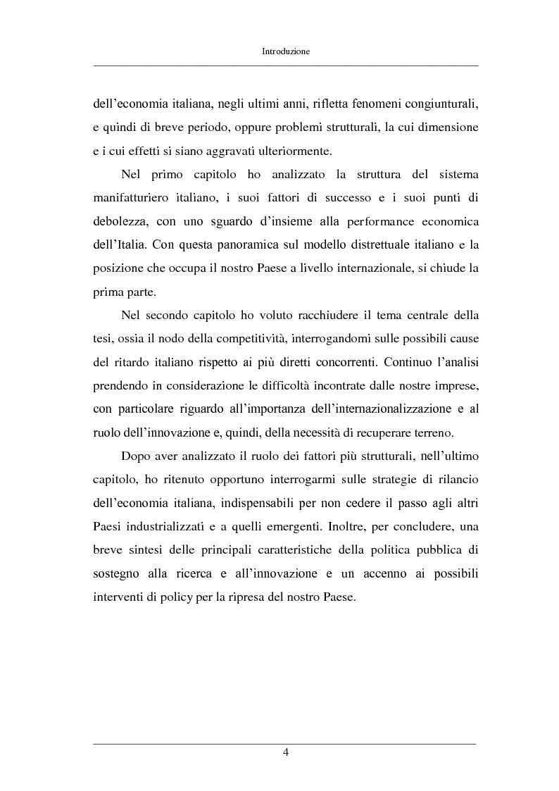 Anteprima della tesi: La competitività delle PMI italiane, Pagina 3