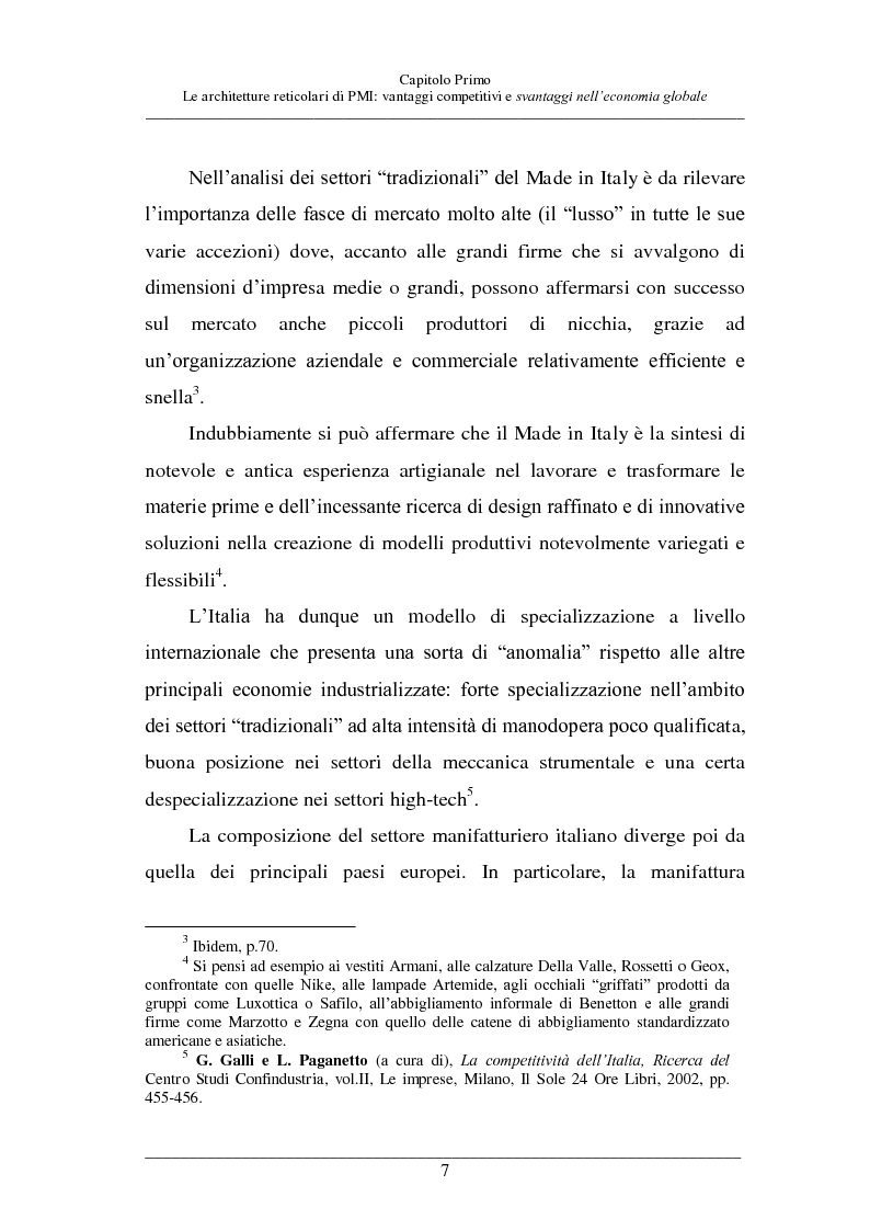 Anteprima della tesi: La competitività delle PMI italiane, Pagina 6
