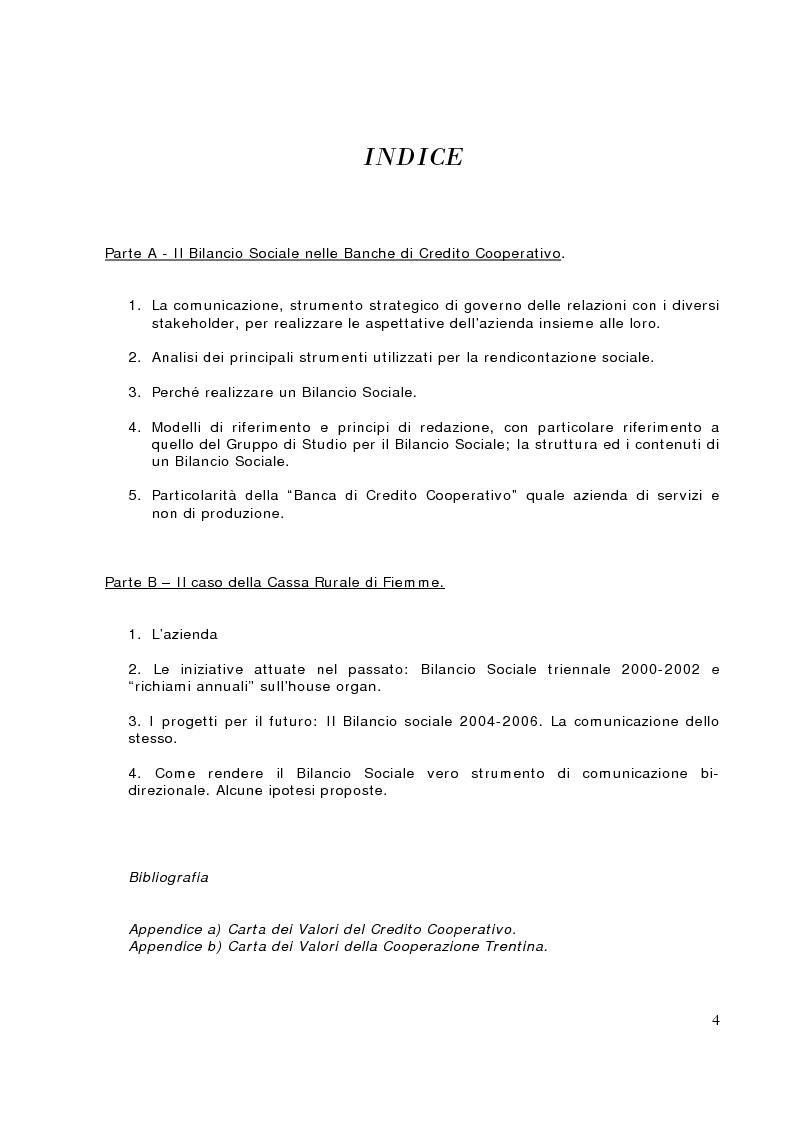 Il bilancio sociale nelle banche di credito cooperativo for Banche di credito cooperativo