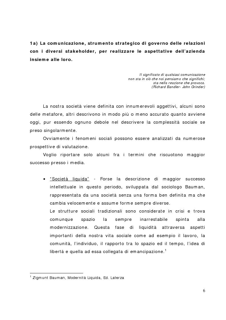 Anteprima della tesi: Il bilancio sociale nelle banche di credito cooperativo, il caso della Cassa Rurale di Fiemme, Pagina 1