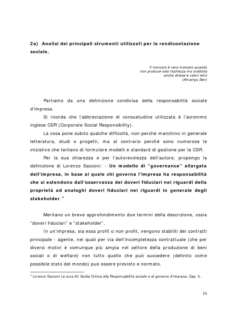 Anteprima della tesi: Il bilancio sociale nelle banche di credito cooperativo, il caso della Cassa Rurale di Fiemme, Pagina 5