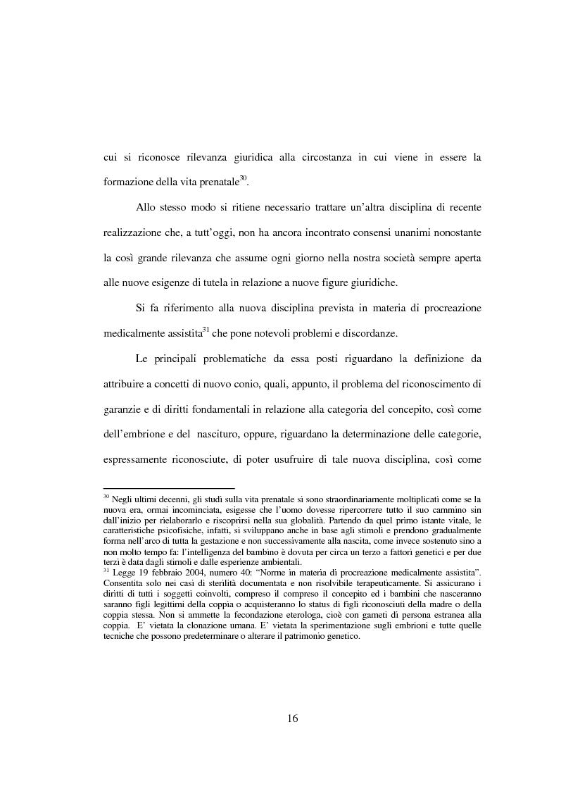 Anteprima della tesi: La tutela penale della vita umana, Pagina 10