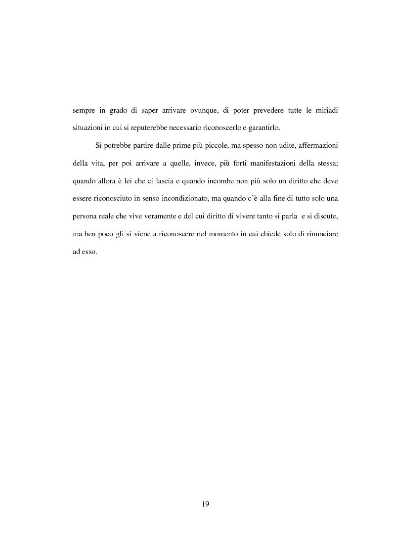 Anteprima della tesi: La tutela penale della vita umana, Pagina 13