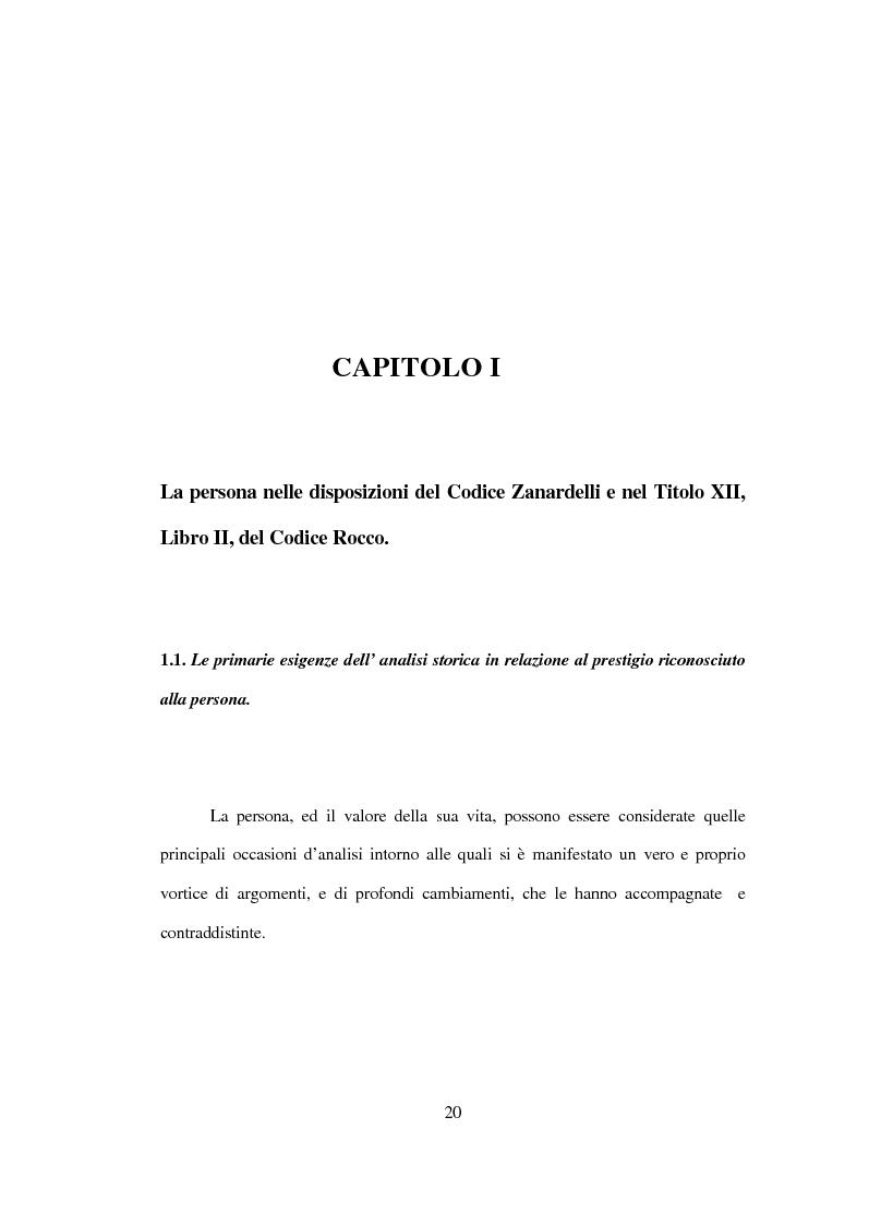 Anteprima della tesi: La tutela penale della vita umana, Pagina 14