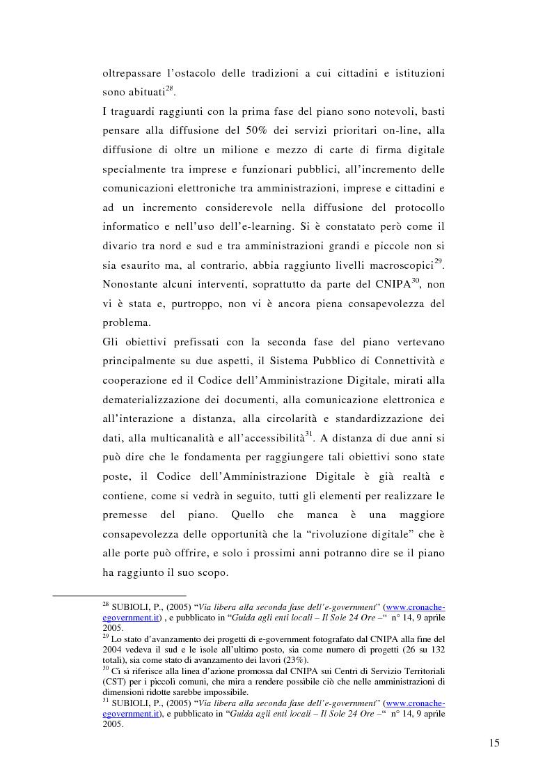 Anteprima della tesi: La prescrizione medica digitale: modello concettuale di Sistema Informativo Sanitario Nazionale, Pagina 15