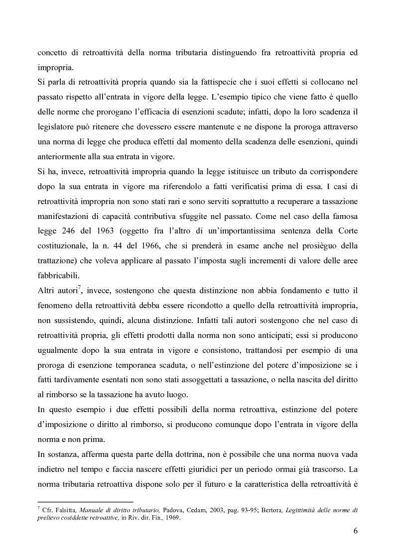 Anteprima della tesi: Il redditometro: questioni inerenti all'applicazione retroattiva, Pagina 4