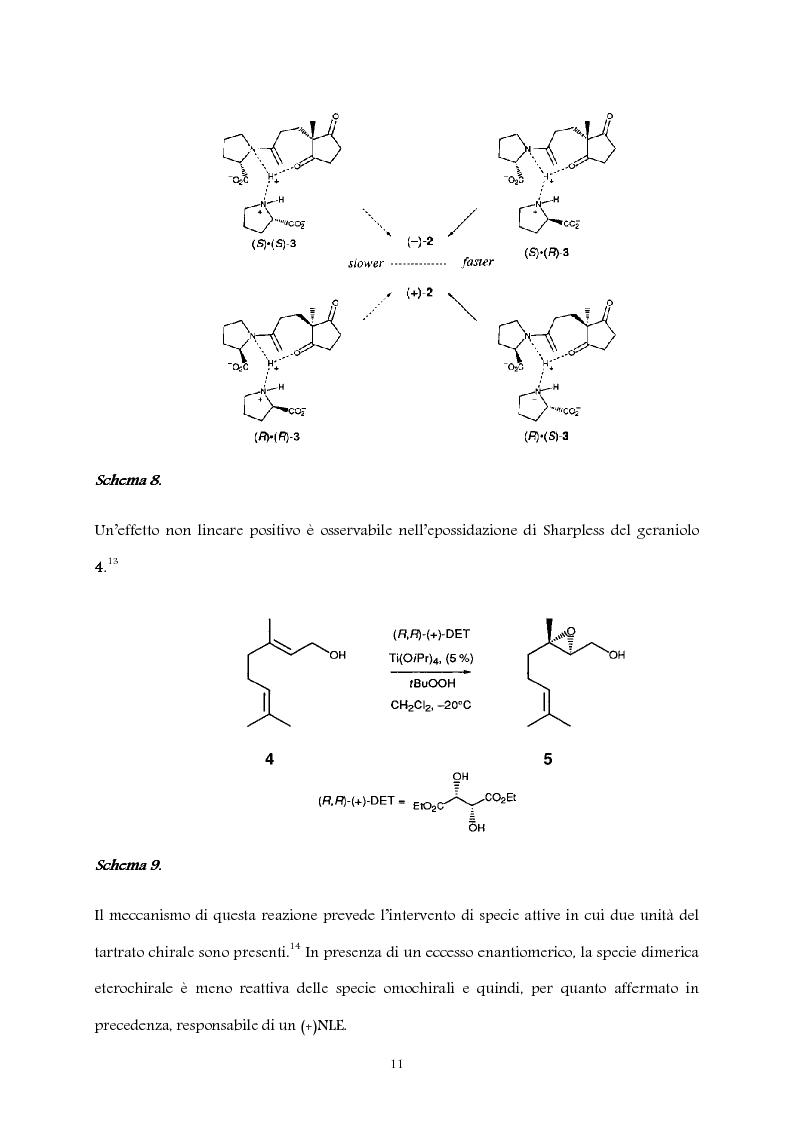 Anteprima della tesi: Studio computazionale del meccanismo della reazione di Soai, Pagina 11