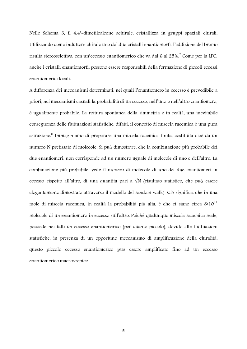 Anteprima della tesi: Studio computazionale del meccanismo della reazione di Soai, Pagina 5