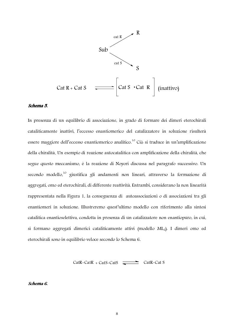 Anteprima della tesi: Studio computazionale del meccanismo della reazione di Soai, Pagina 8