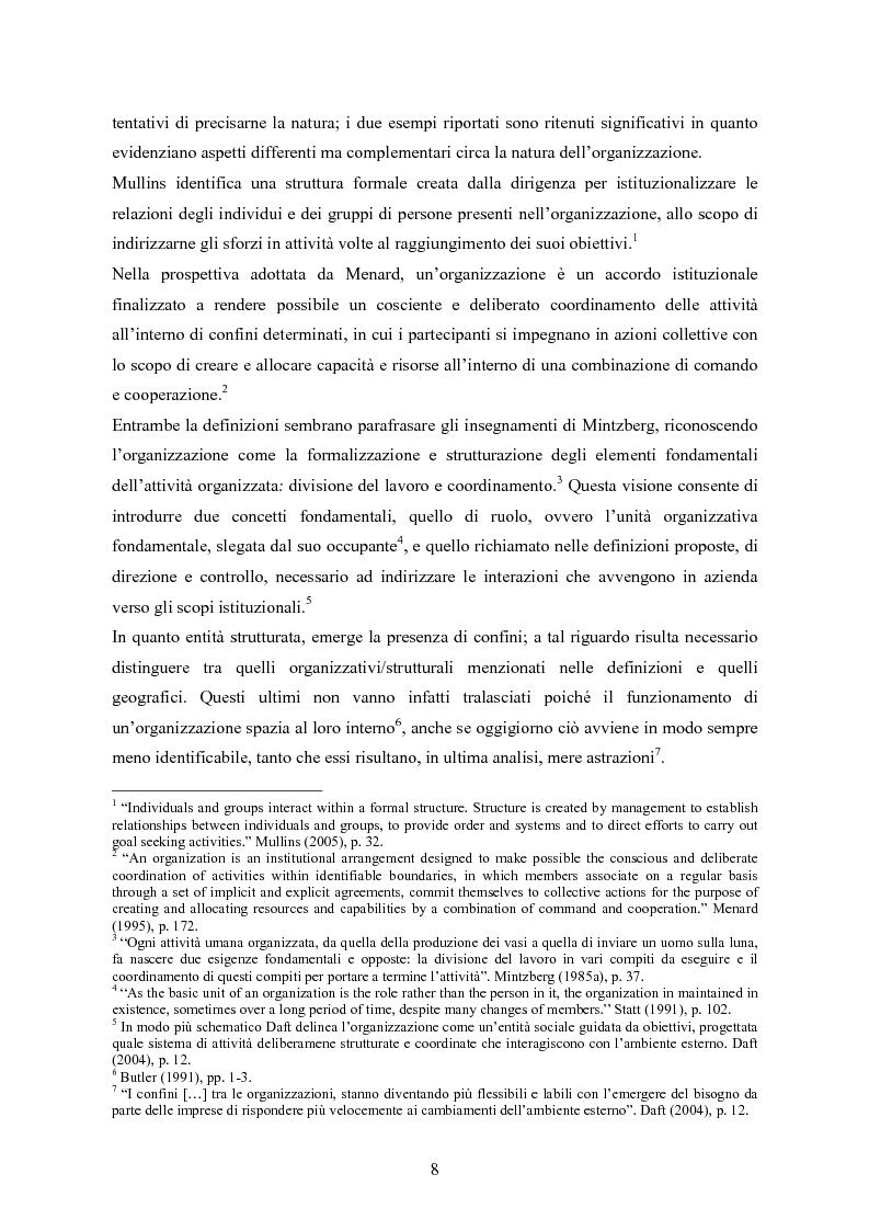 Anteprima della tesi: La balanced scorecard come strumento di gestione del cambiamento organizzativo: il caso dell'Azienda Ospedaliera di Busto Arsizio, Pagina 8