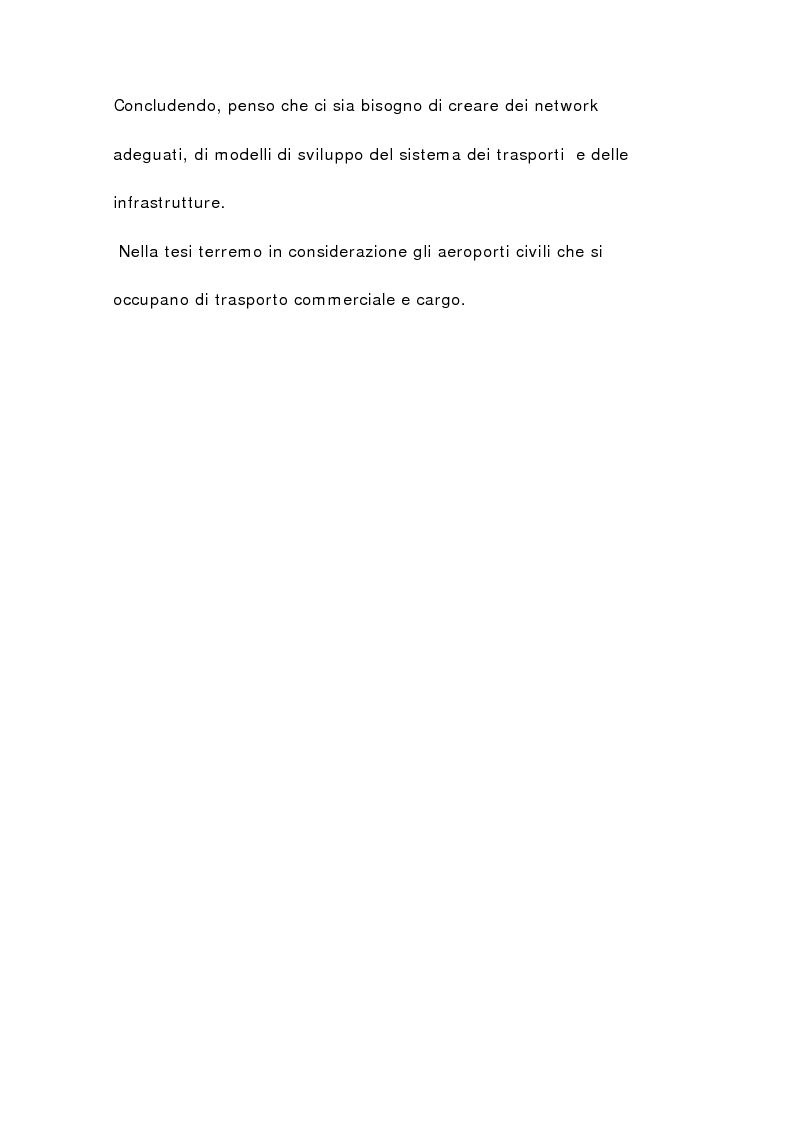 Anteprima della tesi: Il sistema aeroportuale siciliano, Pagina 11