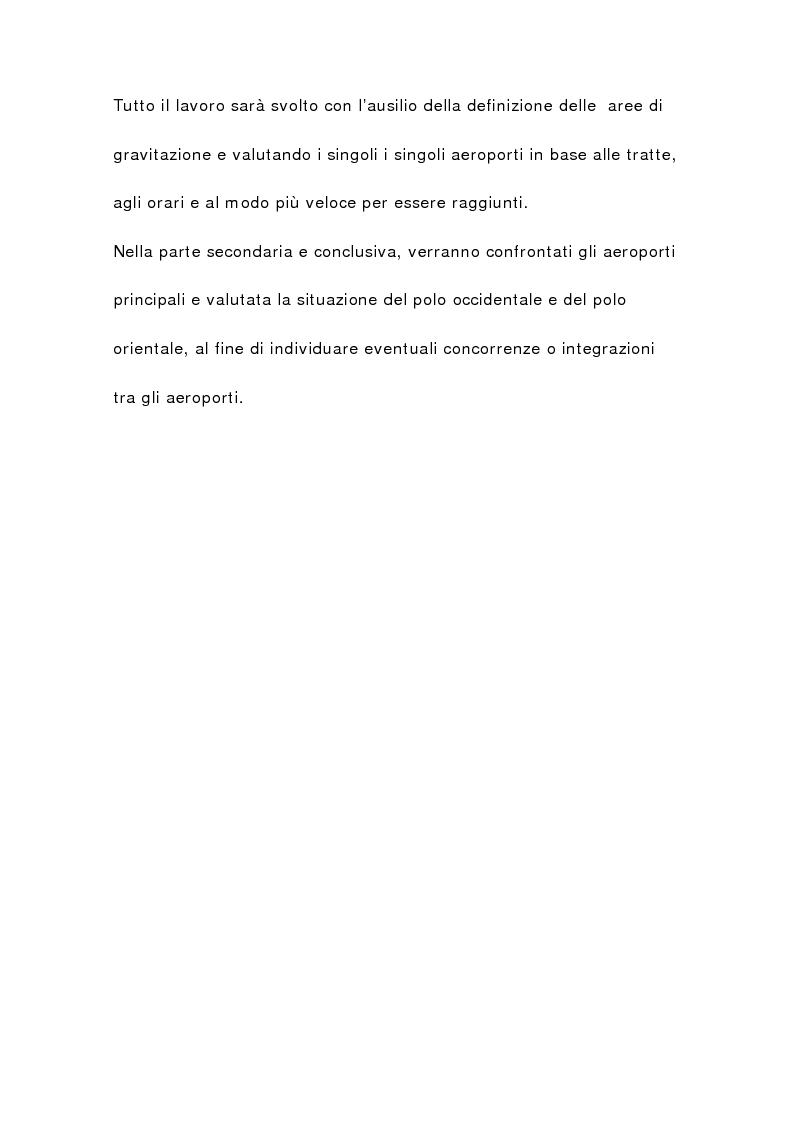 Anteprima della tesi: Il sistema aeroportuale siciliano, Pagina 2