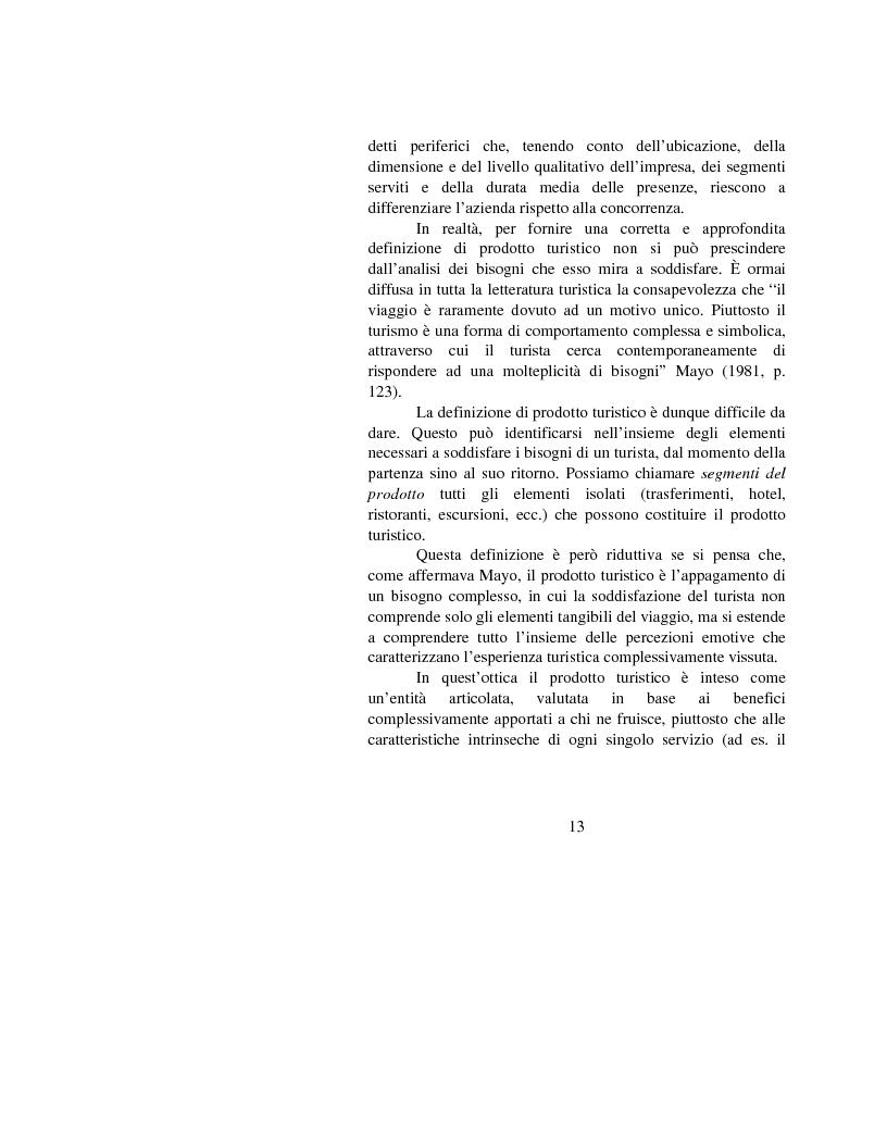 Anteprima della tesi: Le opportunità di Internet per il turismo africano: l'esperienza del Marocco, Pagina 10
