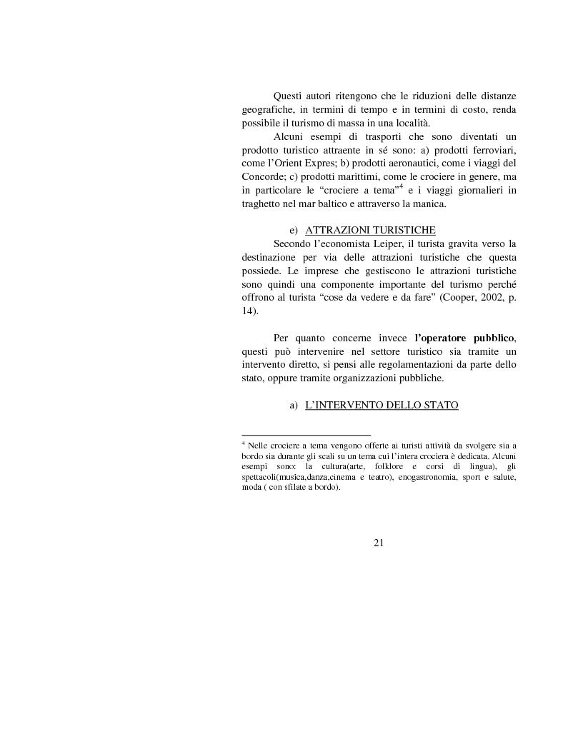 Anteprima della tesi: Le opportunità di Internet per il turismo africano: l'esperienza del Marocco, Pagina 18