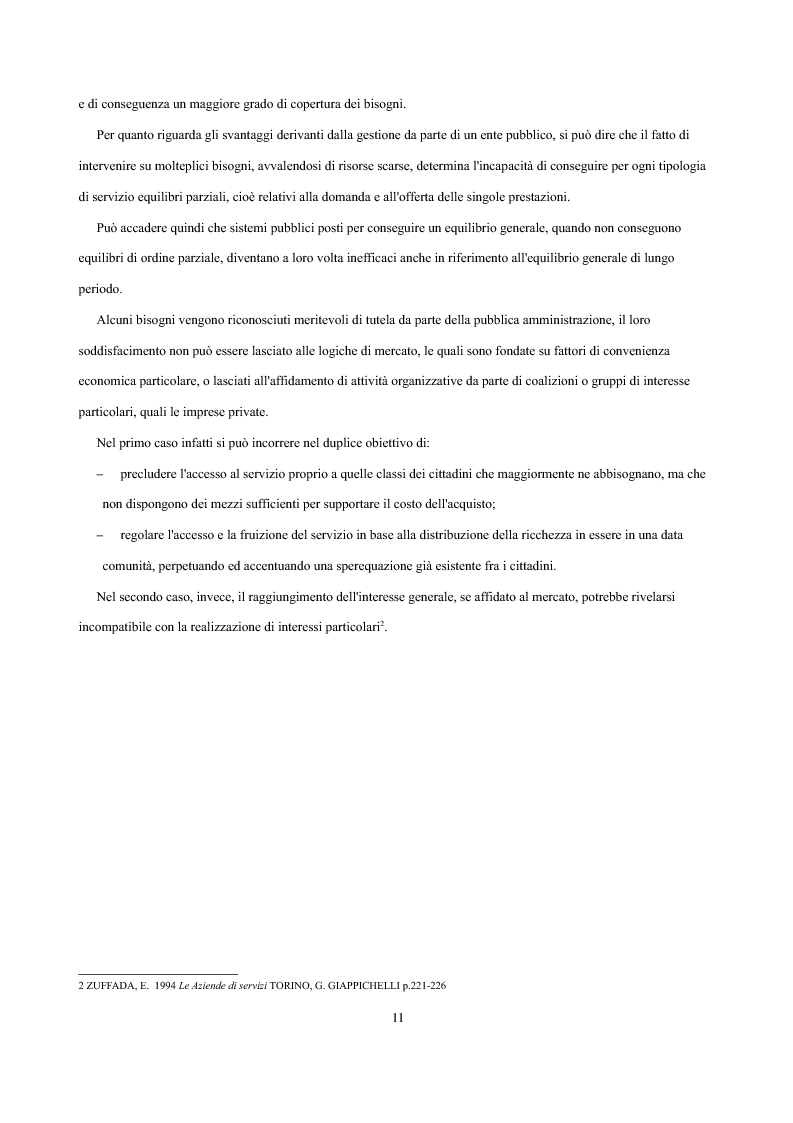 Anteprima della tesi: Analisi economica delle scelte di esternalizzazione dei servizi di trasporto pubblico locale, Pagina 5