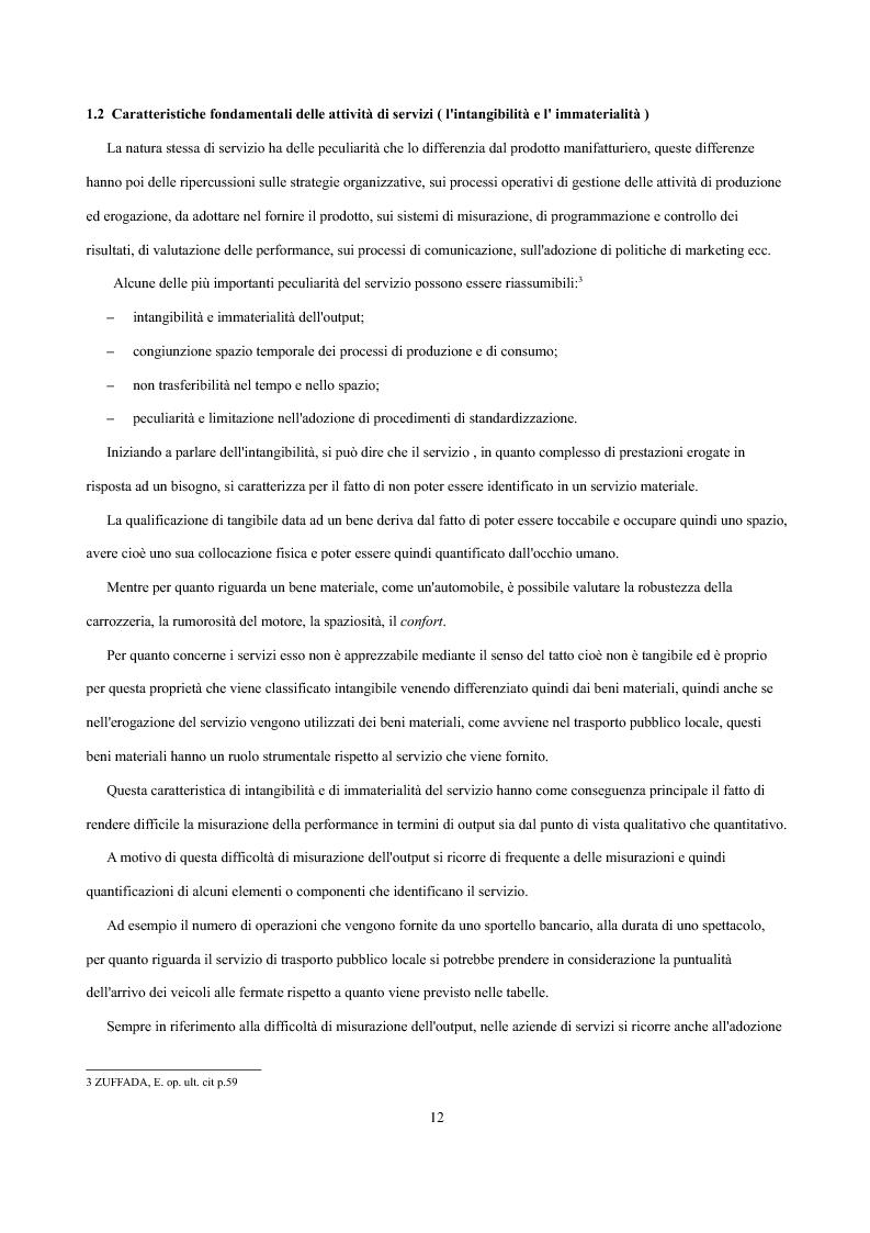 Anteprima della tesi: Analisi economica delle scelte di esternalizzazione dei servizi di trasporto pubblico locale, Pagina 6