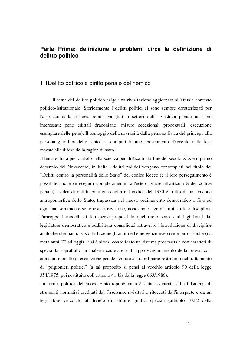 Anteprima della tesi: Extraordinary rendition e voli segreti CIA in Europa, Pagina 1
