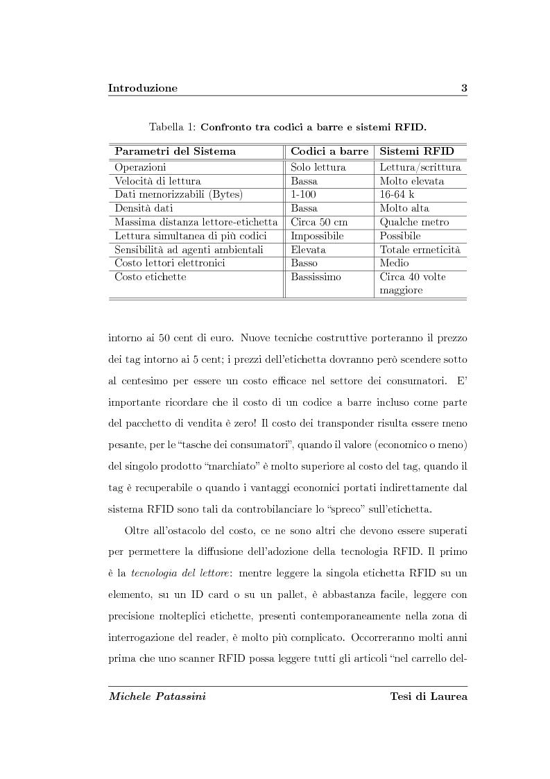 Anteprima della tesi: Studio di un'antenna a dipolo per applicazioni RFID a 2.45 GHz: indagine numerica, Pagina 3