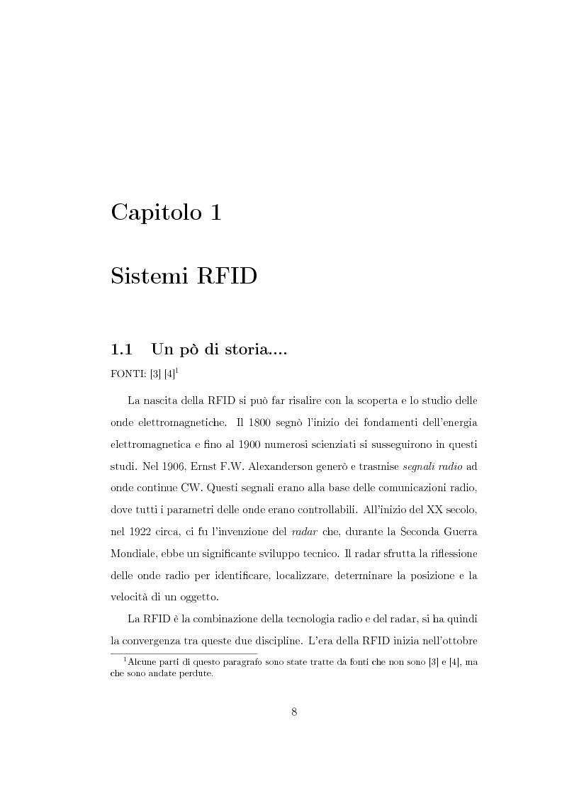 Anteprima della tesi: Studio di un'antenna a dipolo per applicazioni RFID a 2.45 GHz: indagine numerica, Pagina 8