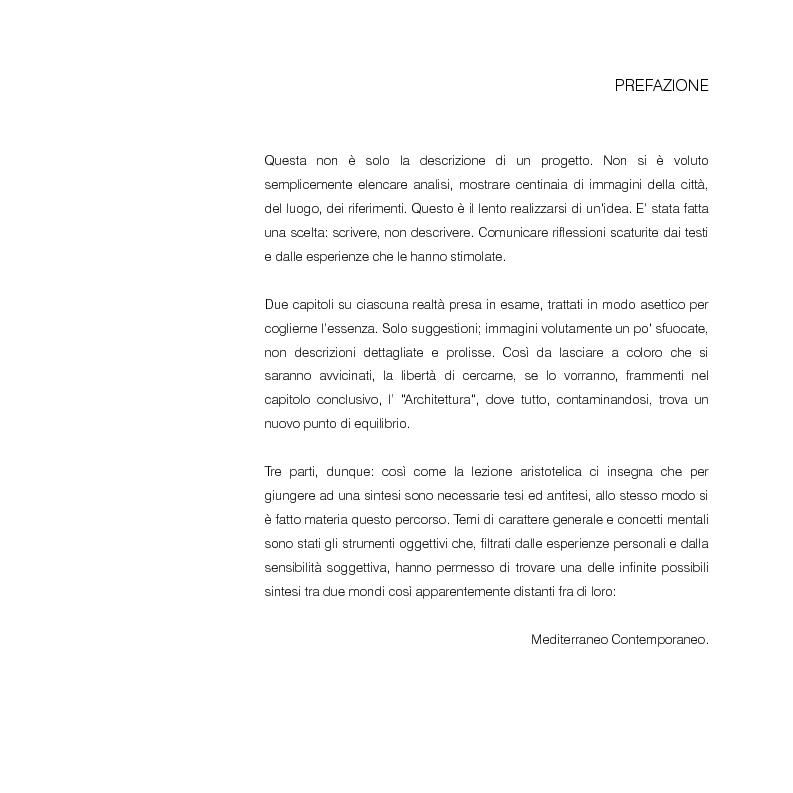 Anteprima della tesi: Mediterraneo contemporaneo, Pagina 1