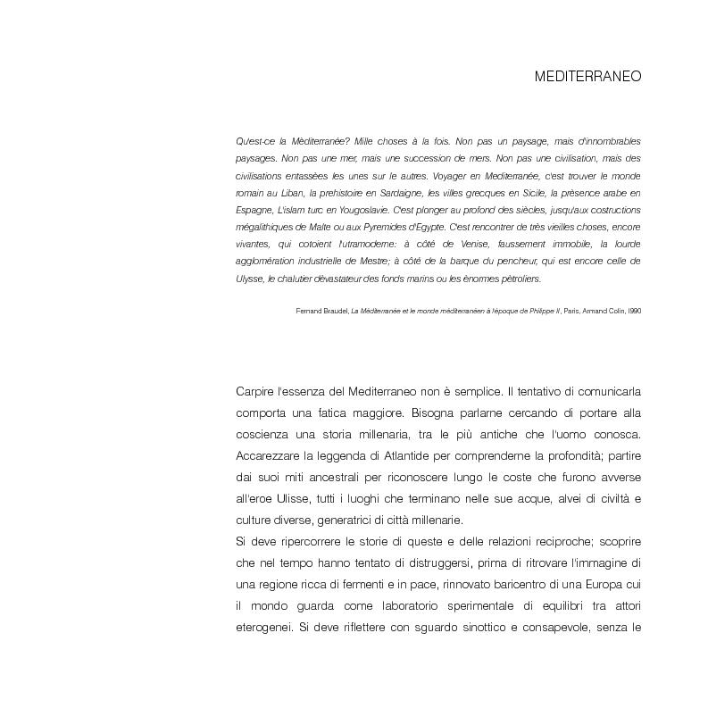 Anteprima della tesi: Mediterraneo contemporaneo, Pagina 3