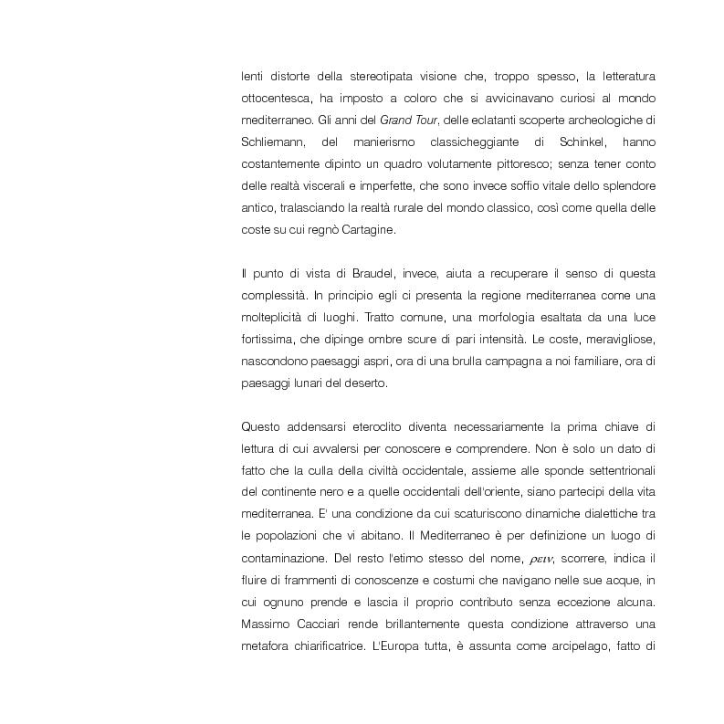 Anteprima della tesi: Mediterraneo contemporaneo, Pagina 4