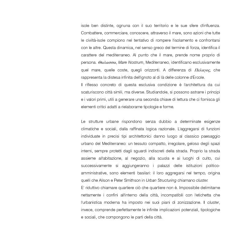 Anteprima della tesi: Mediterraneo contemporaneo, Pagina 5