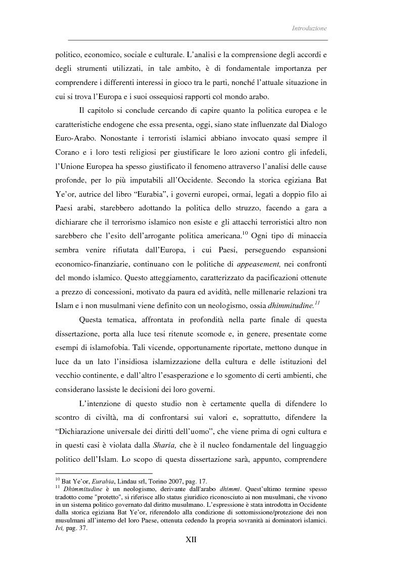 Anteprima della tesi: Il linguaggio politico dell'Islam, Pagina 7