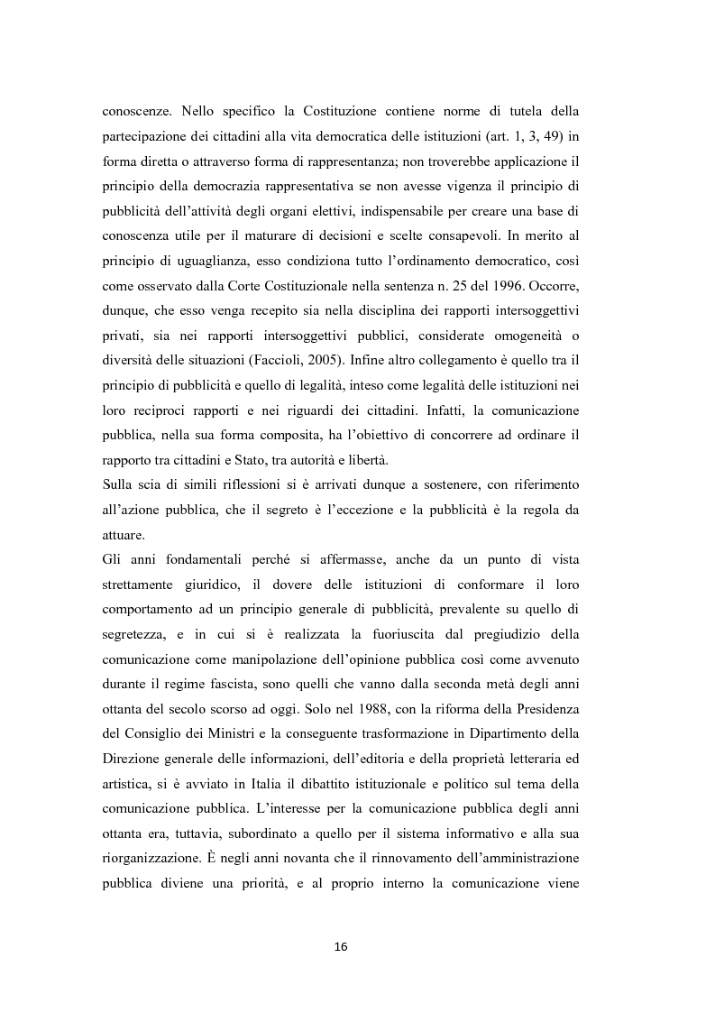 Anteprima della tesi: L'amministrazione che ascolta. Analisi della customer satisfaction degli utenti dell'Urp del comune di Torre del greco, Pagina 13
