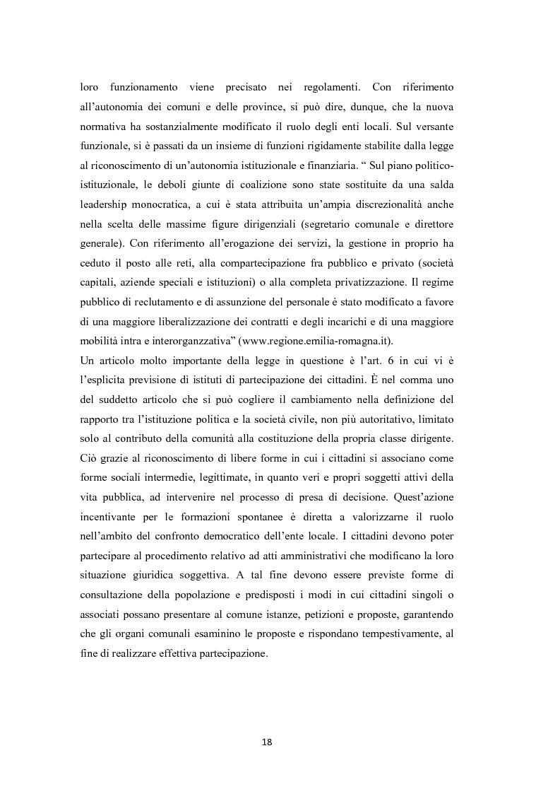 Anteprima della tesi: L'amministrazione che ascolta. Analisi della customer satisfaction degli utenti dell'Urp del comune di Torre del greco, Pagina 15