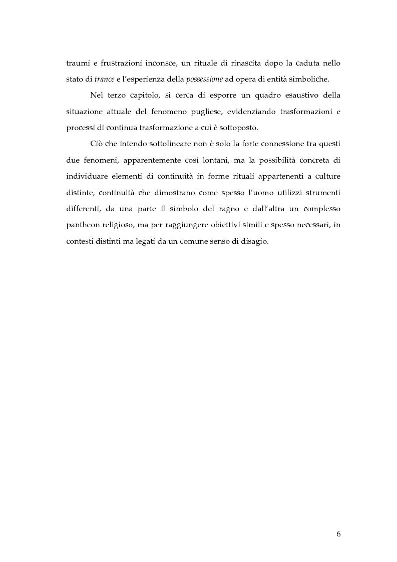 Anteprima della tesi: Dal rito della taranta al vudu haitiano: analisi di alcuni paralleli etnografici nell'opera di de Martino, Pagina 3