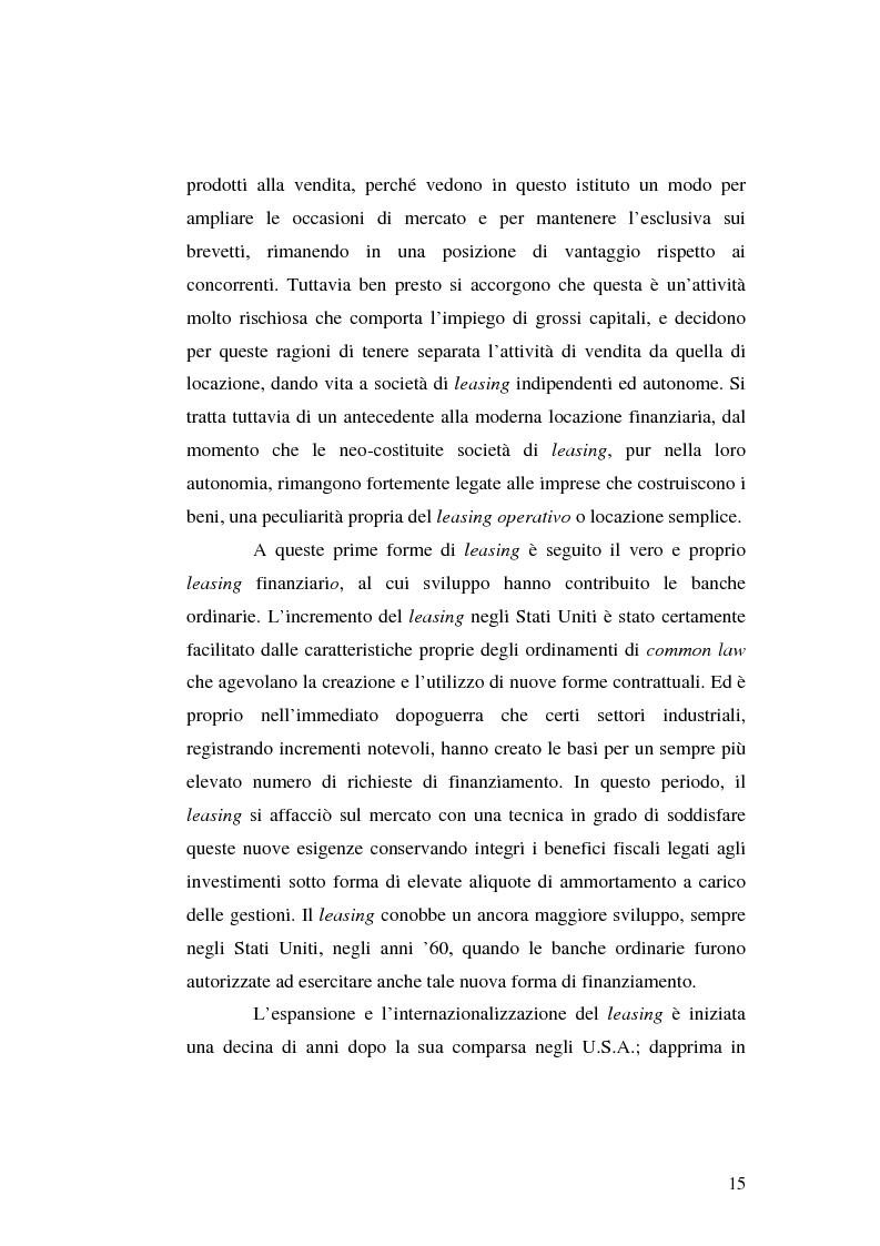 Anteprima della tesi: I servizi bancari atipici di finanziamento per le imprese, Pagina 10