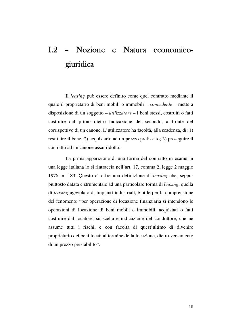 Anteprima della tesi: I servizi bancari atipici di finanziamento per le imprese, Pagina 13