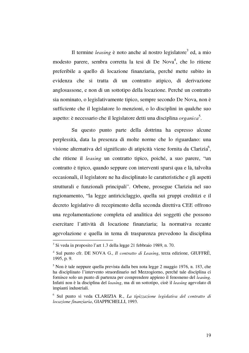 Anteprima della tesi: I servizi bancari atipici di finanziamento per le imprese, Pagina 14