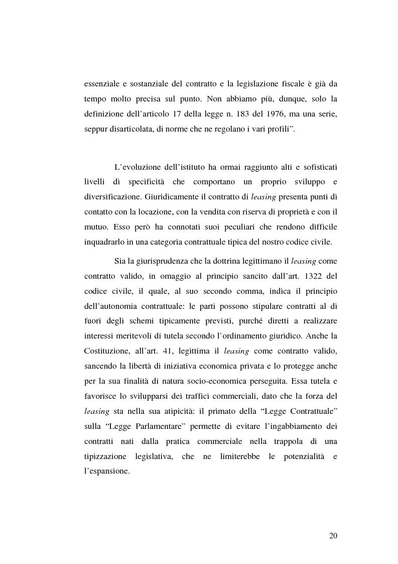 Anteprima della tesi: I servizi bancari atipici di finanziamento per le imprese, Pagina 15