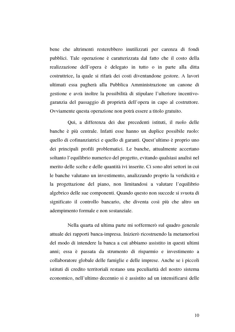 Anteprima della tesi: I servizi bancari atipici di finanziamento per le imprese, Pagina 5