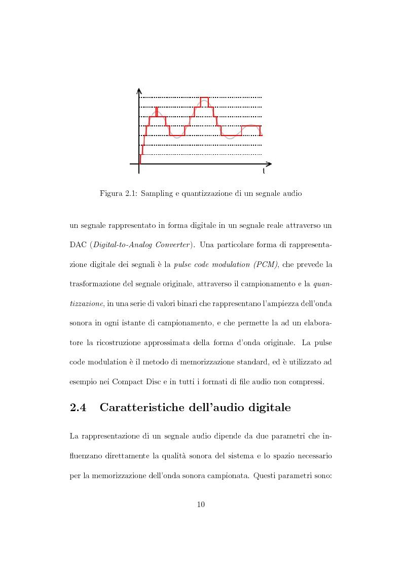Anteprima della tesi: Design, tuning e sperimentazione di filtri bilaterali per l'audio, Pagina 8
