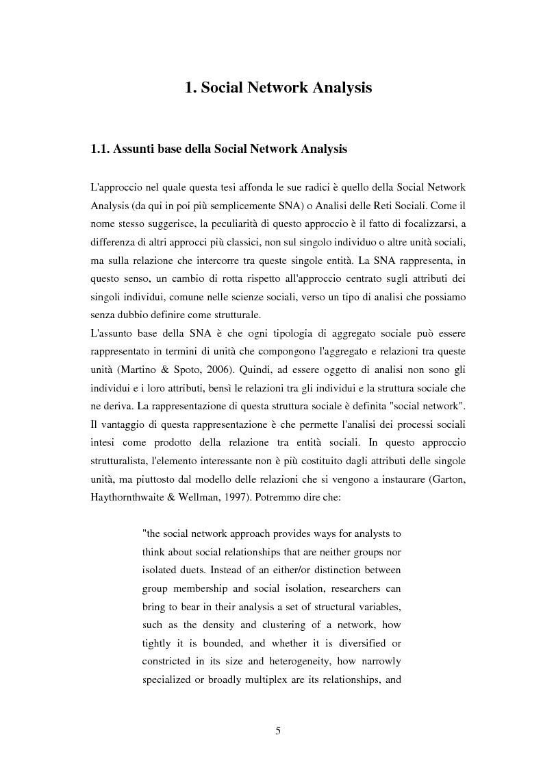 Anteprima della tesi: L'effetto di feedback basati sulla struttura delle reti sociali nell'interazione mediata da computer, Pagina 3