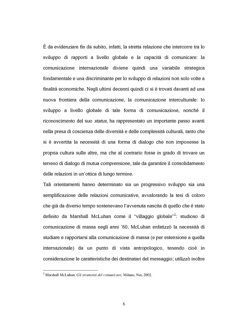 Anteprima della tesi: La comunicazione interculturale nella pubblicità internazionale: il caso Saatchi & Saatchi e il caso Grey Advertising, Pagina 6