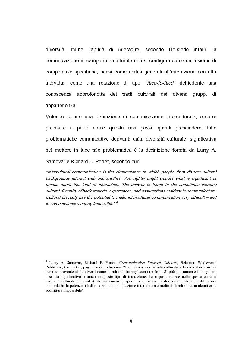 Anteprima della tesi: La comunicazione interculturale nella pubblicità internazionale: il caso Saatchi & Saatchi e il caso Grey Advertising, Pagina 8