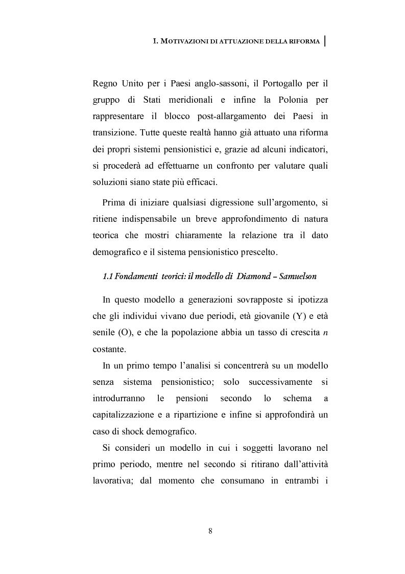 Anteprima della tesi: La riforma dei sistemi pensionistici europei, Pagina 3