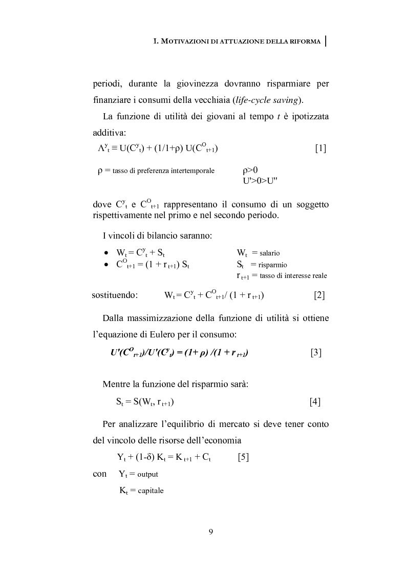 Anteprima della tesi: La riforma dei sistemi pensionistici europei, Pagina 4