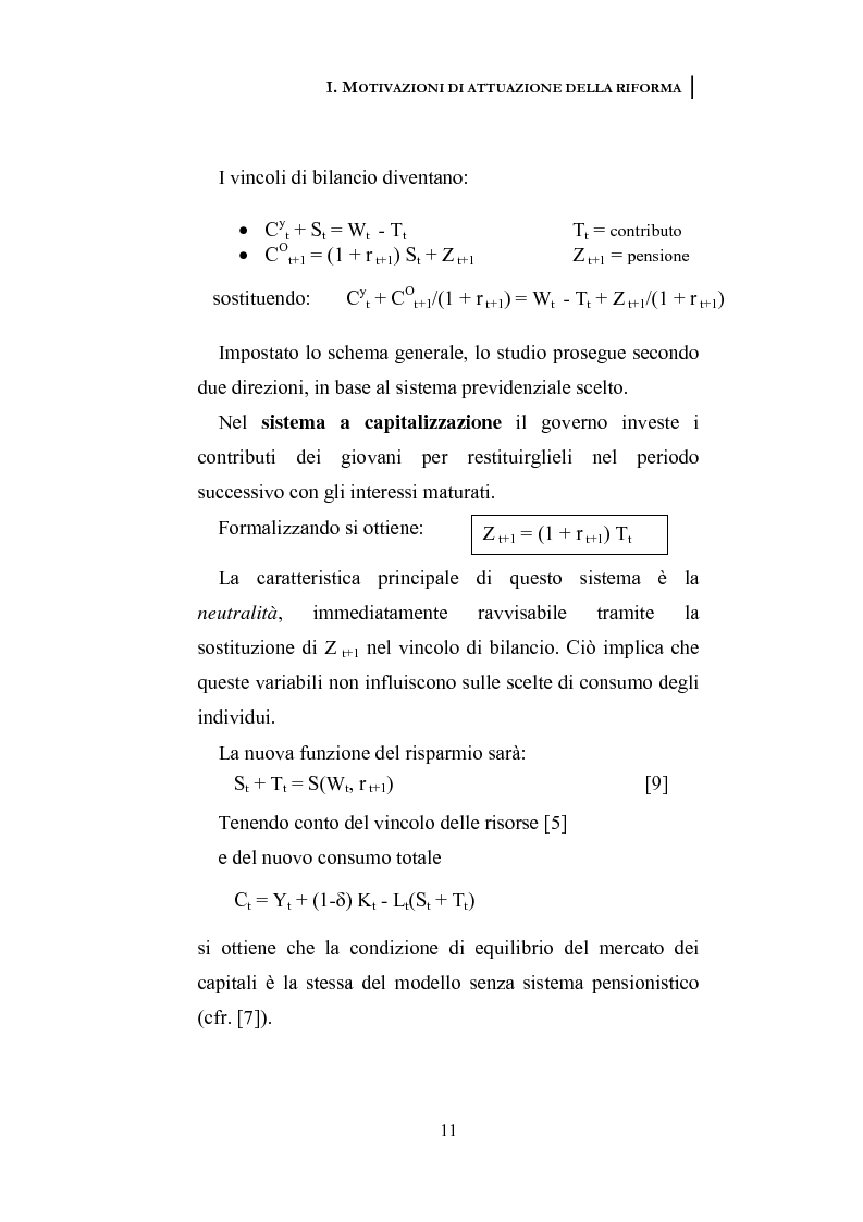 Anteprima della tesi: La riforma dei sistemi pensionistici europei, Pagina 6