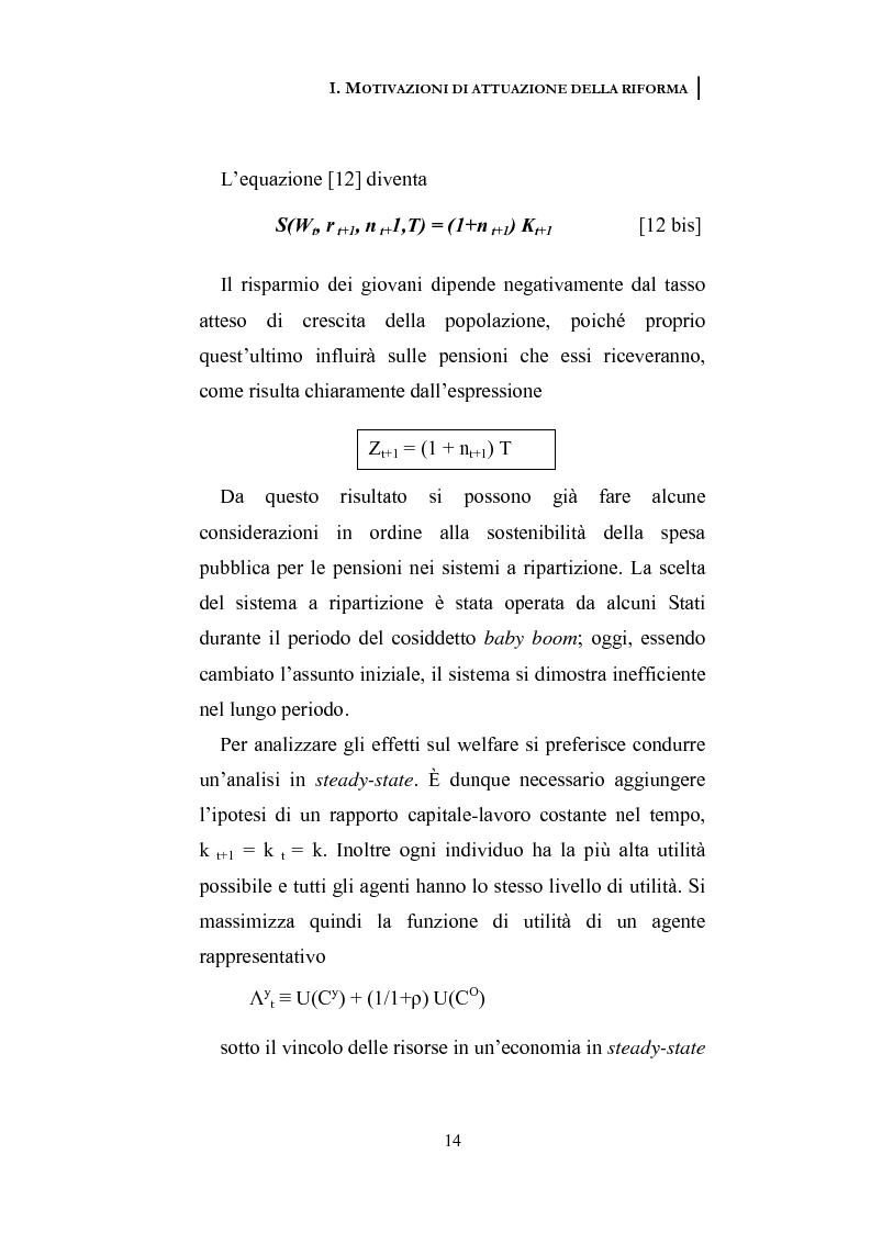 Anteprima della tesi: La riforma dei sistemi pensionistici europei, Pagina 9