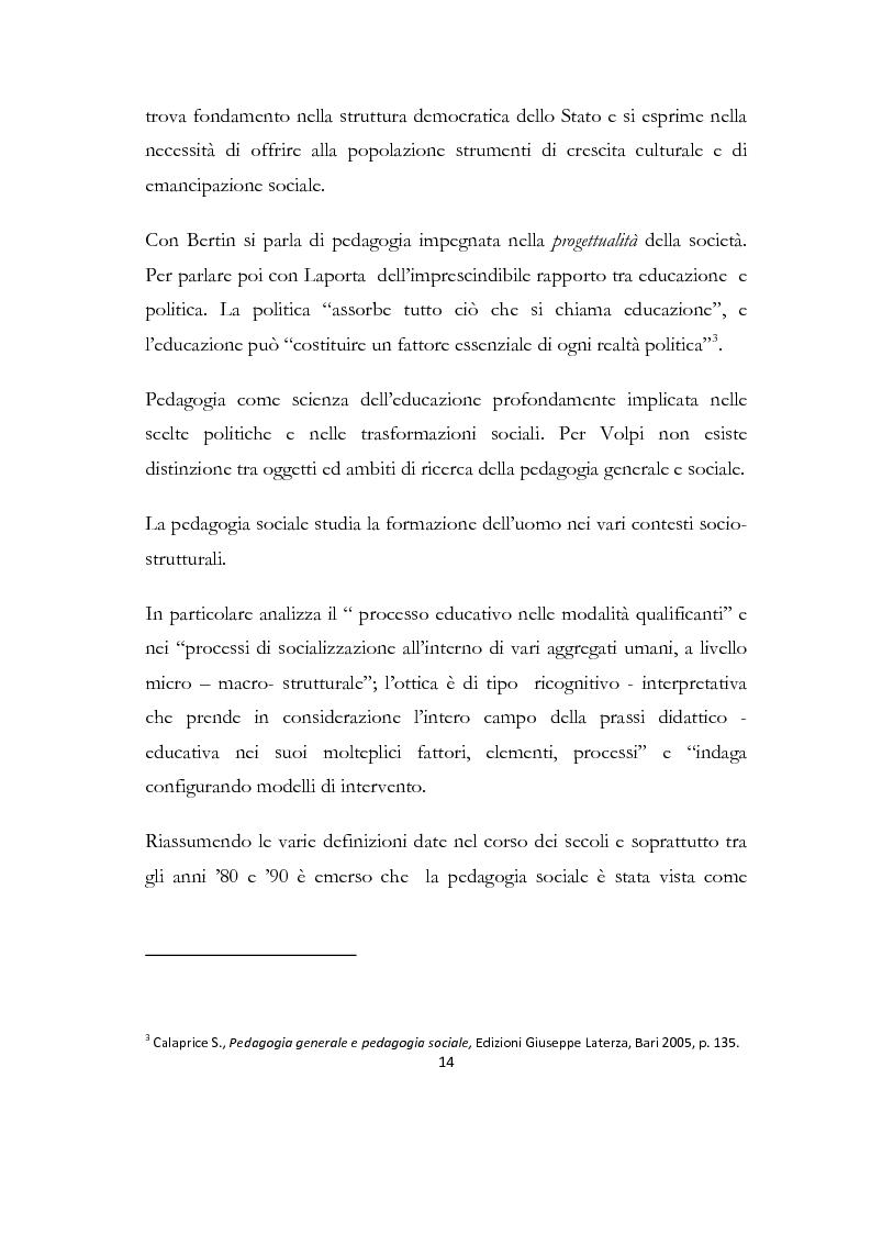 Anteprima della tesi: La formazione delle famiglie affidatarie come nuovo progetto pedagogico di accoglienza, Pagina 10