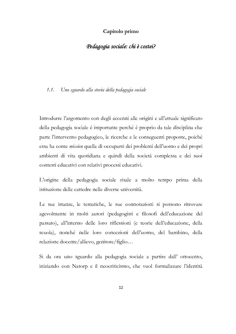 Anteprima della tesi: La formazione delle famiglie affidatarie come nuovo progetto pedagogico di accoglienza, Pagina 8