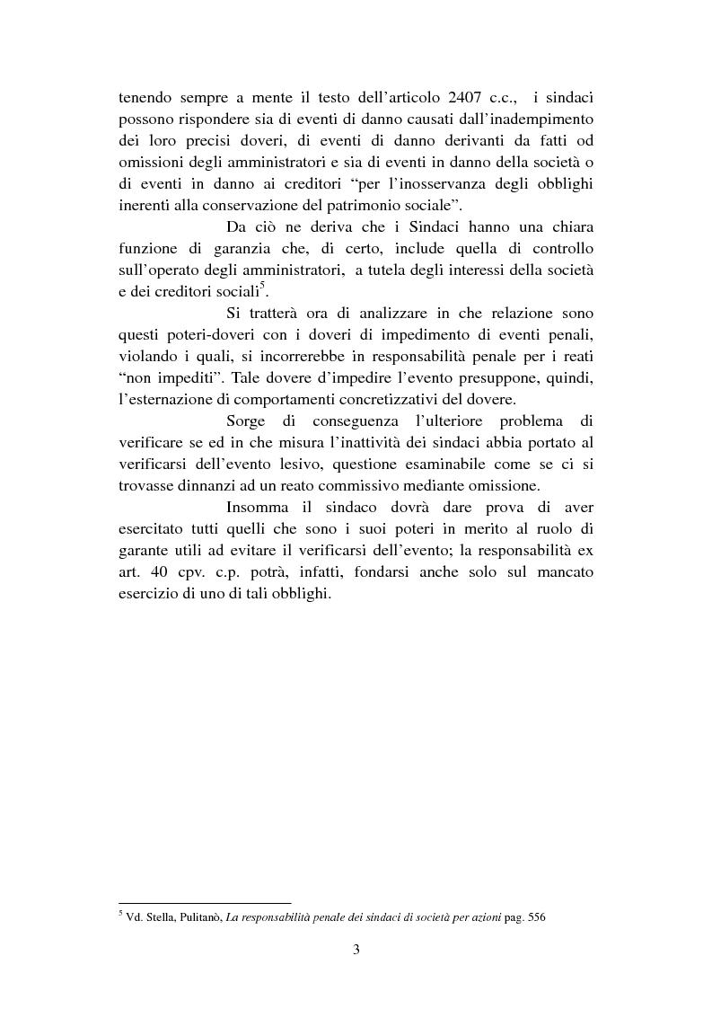 Anteprima della tesi: I criteri di imputazione soggettiva nel diritto penale fallimentare, Pagina 3
