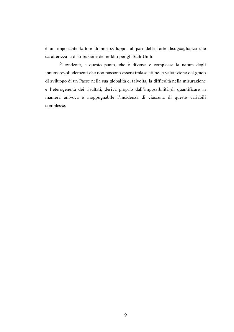 Anteprima della tesi: Analisi dei criteri di misurazione dello sviluppo come libertà, Pagina 5