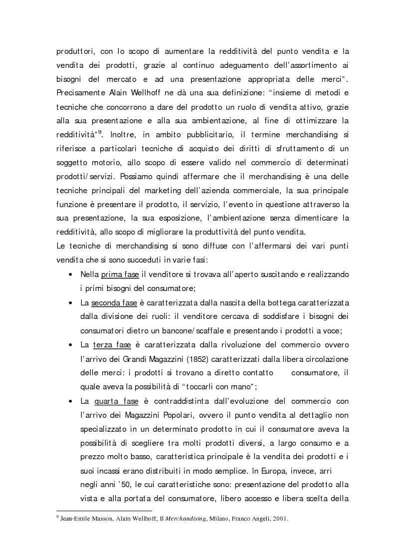 Anteprima della tesi: Sport Merchandising: il caso JuveCaserta, Pagina 11
